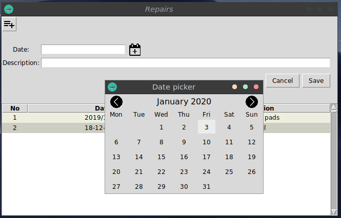DatePicker w bibliotece tkinter
